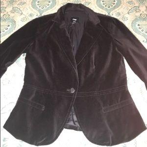Gorgeous Black Velvet Blazer